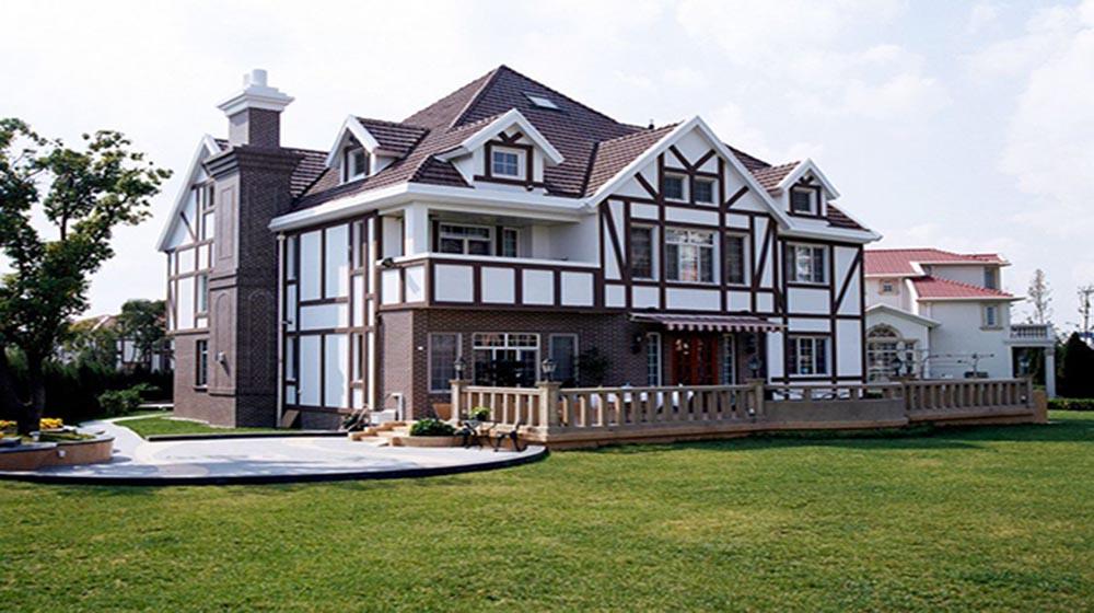 本地轻钢别墅,实心轻墙体+节能环保,抗震,25天完工,送全屋装修
